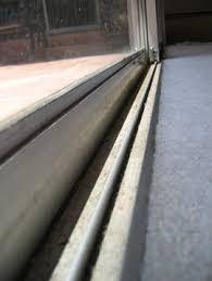 Patio Sliding Door Track Before And After Photos Of Vinyl Patio Doors