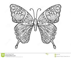 detailed butterfly coloring pages for adults coloring book butterfly printable to amusing butterfly coloring book