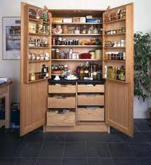 Oak Kitchen Pantry Cabinet Attractive Solid Wood Kitchen Pantry And Pantry Cabinet Ideas Grey