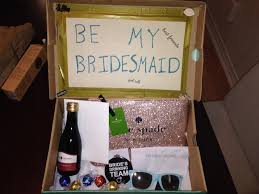 Will You Be My Maid Of Honor Ideas Creative Boxes For Bridesmaids Or Christmas Presents Smart Snobs