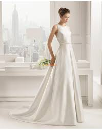 brautkleid satin glanz satin applikation brautkleider 2015
