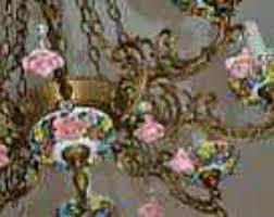 porcelain chandelier roses 7 best porcelain chandelier images on chandelier