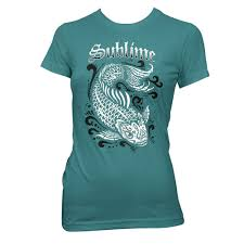 Maternity Halloween Shirts Sublime Koi Womens T Shirt