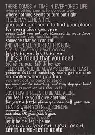 Raise This Barn Lyrics Best 25 Let It Be Lyrics Ideas On Pinterest Let It Be Song