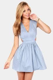 cute blue dress cutout dress eighties dress 46 00