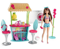 barbie sisters skipper doll and tiki hut playset only 13 50