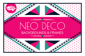 neo deco a clean modern style inspired by art deco on behance