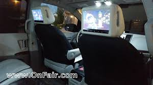toyota highlander dvd headrest headrest dvd player reviews and buying guide