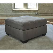 Ashley Furniture Pitkin Ottoman in Slate