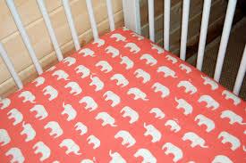 coral elephant crib bedding creative ideas of baby cribs