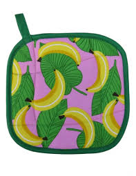 Kitchen Gifts by Collisionware Handmade Bananas Pot Holder Collisionware