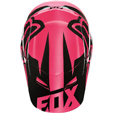 fox helmet motocross fox racing 2016 womens v1 race helmet pink available at motocross