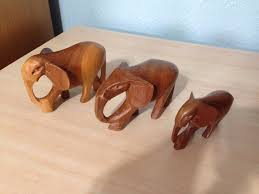 vintage wooden elephant ornaments in darlington county durham