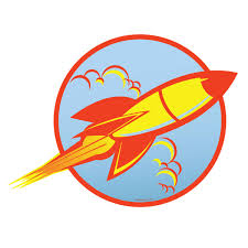 space ship 50s style rocket wall decal game room decor space ship 50s style rocket wall decal game room decor retroplanet com