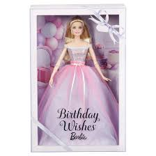 barbie collector birthday wishes doll target