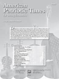 American Flag Doodle American Patriotic Tunes For String Ensemble Vio J W Pepper