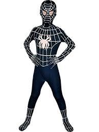 Wraith Halloween Costume Amazon Wraith East Kids Superhero Cosplay Black Bodysuit