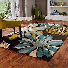 Teal Living Room Rug by Indoor Teal Ivory Area Rug Free Shipping Today Overstock Com