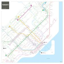 Subway Train Map by Jug Cerovic
