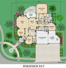 horseshoe bay retirement house plans luxury home plan