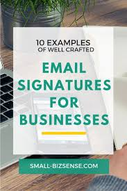 Free Email Signature Templates by 10 Examples Of Well Crafted Email Signatures For Businesses
