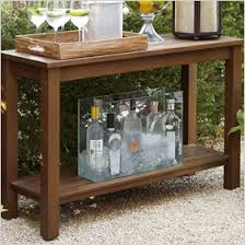 outdoor console table outdoor furniture you can invite inside