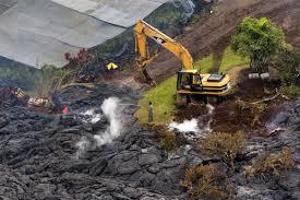 Hawaii Lava Flow Map Hawaiian Volcano Lava Flow Slows But Remains Active The Boston