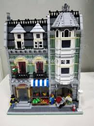 aliexpress com buy lepin 15008 city street the green grocer