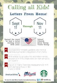 letters from home team kids