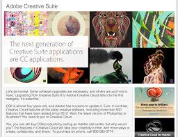 Adobe Plans Cc Or Bust Adobe Officially Pulls The Plug On Creative Suite