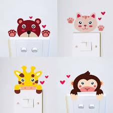 online get cheap zebra stickers aliexpress com alibaba group diy cute funny giraffe monkey cat lion bear zebra