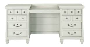 White Desk With Hutch by Antique White Office Desk And Hutch Hancock Park Rc Willey