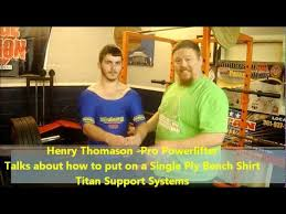 What Is A Bench Shirt John Bernor Explaining How To Use A Bench Shirt Sporter Tv All