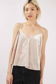 velvet swing camisole top tops clothing swings winter