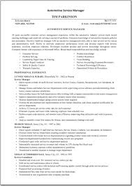 General Manager Resume Resume Automotive Service Manager Resume