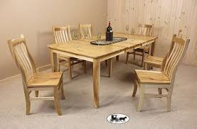 Amish Dining Room Set Amish And Adirondack Kitchen Dining Room Furniture Ny