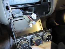 nissan altima 2005 ac problems how to 06 nissan altima temp control removal installation