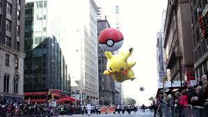 new york city ny november 24 pikachu balloon during