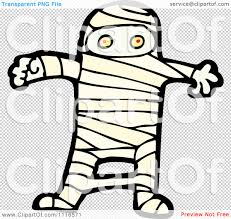 halloween transparent background clipart clipart halloween mummy 1 royalty free vector illustration by