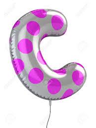 harf c balon 3d illüstrasyon royalty free stok fotoğraf resimler