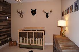 Nature Themed Crib Bedding Cade S Lodge Diy Baby 2 Nursery Project Nursery