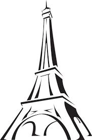 simple eiffel tower drawing roadrunnersae