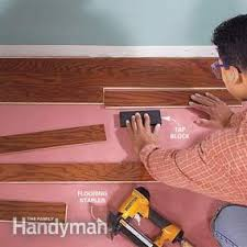 Installing Prefinished Hardwood Floors Install Prefinished Wood Flooring Family Handyman