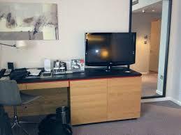 desk tv stand tv picture of hilton london tower bridge 1 modern