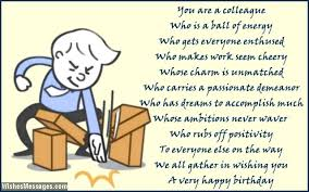 poems about work colleagues 100 images 33 heartfelt birthday