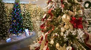 Christmas Trees Nc Peppermint Forest Christmas Shop Is A Beloved Charlotte Tradition