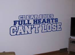 clear hearts can t lose vinyl wall quote decal sticker