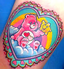 bear tattoo idea