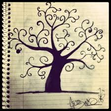 a swirly tree by cassarossrockstar on deviantart