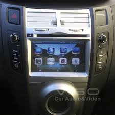 Lcd Yaris Car Stereo Gps Navigation For Toyota Yaris Auto Multimedia Headunit